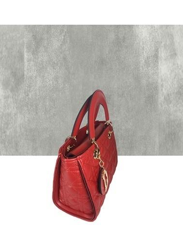Farbag Clutch / El Çantası Kırmızı